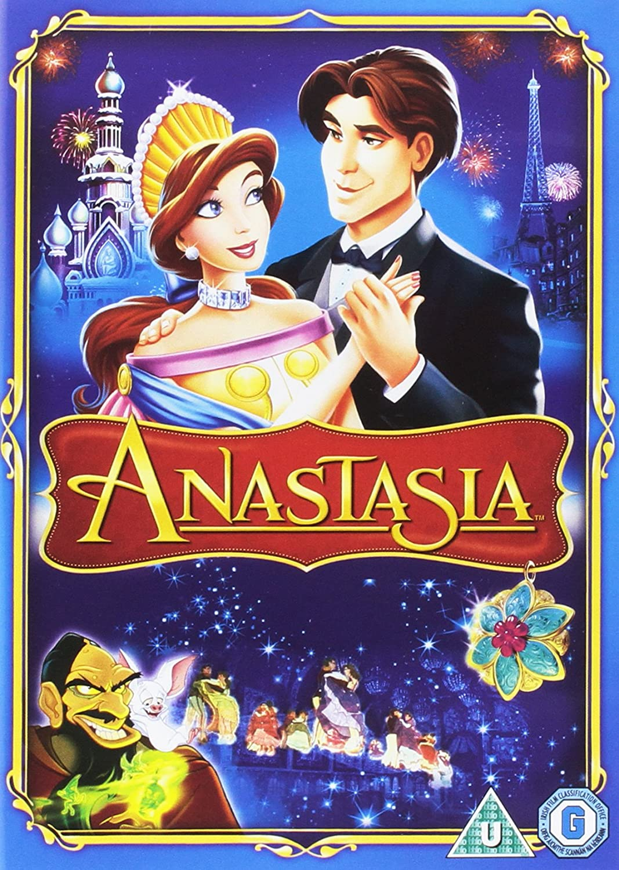 Anastasia DVD [Reino Unido]