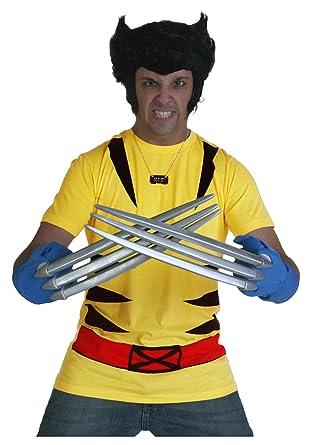 Amazon.com: Marvel Tees Wolverine Traje de los hombres ...