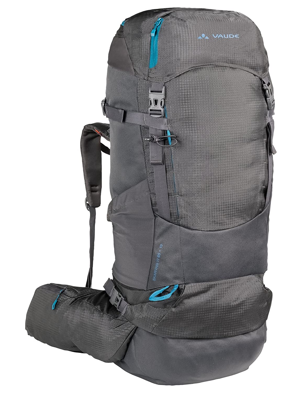 VAUDE Women s Skarvan 65+10 Backpack - 65L - 75L - Very Large Robust  Backpack for Trekking and Backpacking - Water Repellent - Exceptional Load  Distribution ... 47b112becc
