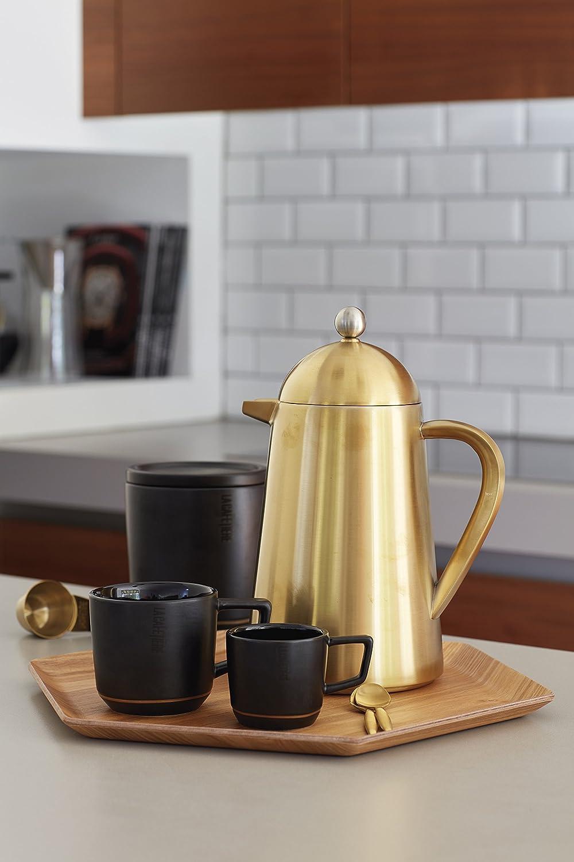 10 x 4,5 x 3 cm Dorado Acero Inoxidable 10 x 4.5 x 3 cm La Cafeti/ère Cuchara de caf/é editada