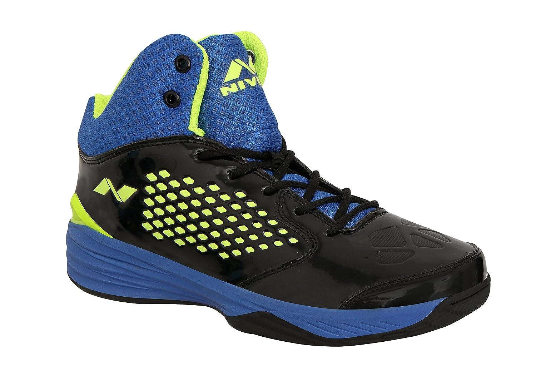 Blaue \u0026 Black Basketball Shoes