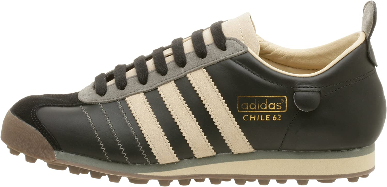 Amazon.com | adidas Originals Men's Chile 62 Soccer Shoe, Black/Lt ...