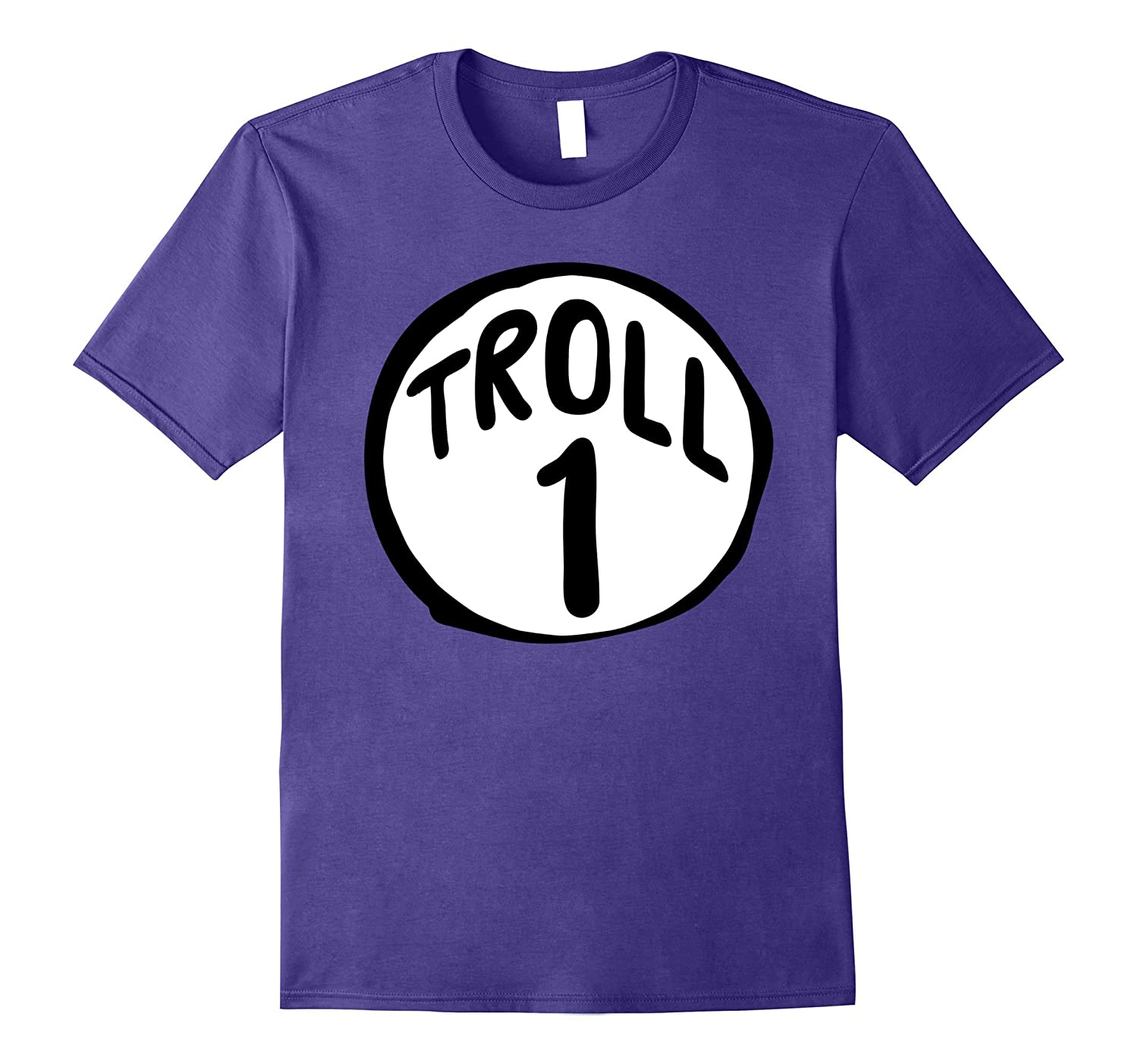 'Troll 1' Halloween Troll Costume Shirt-Rose