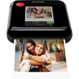 Polaroid WiFi Wireless 3x4 Portable Mobile Photo Printer (Black) with LCD Touch Screen, Compatible w/ iOS & Android. (AMZASK11POP1BK)