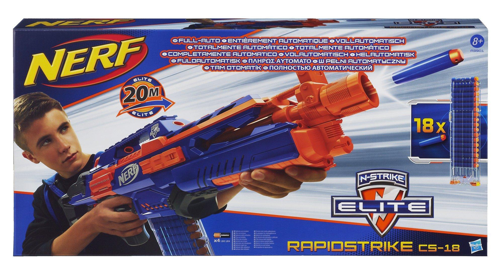 Nerf - Arma de juguete modelo Elite Counterstrike 18 (Hasbro A3901E24) product image