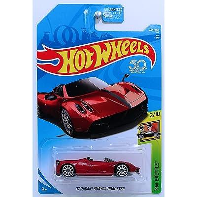 Hot Wheels 2020 50th Anniversary HW Exotics '17 Pagani Huayra 243/365, Maroon: Toys & Games