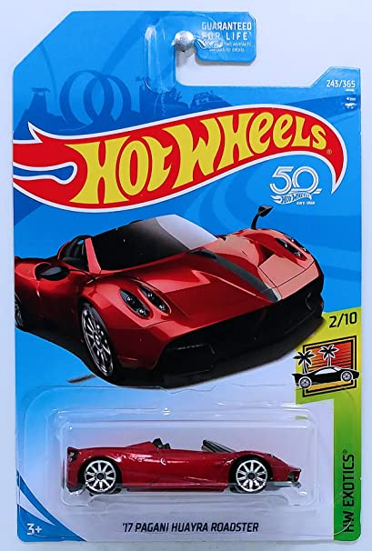 Amazon Com Hot Wheels 2018 50th Anniversary Hw Exotics 17 Pagani