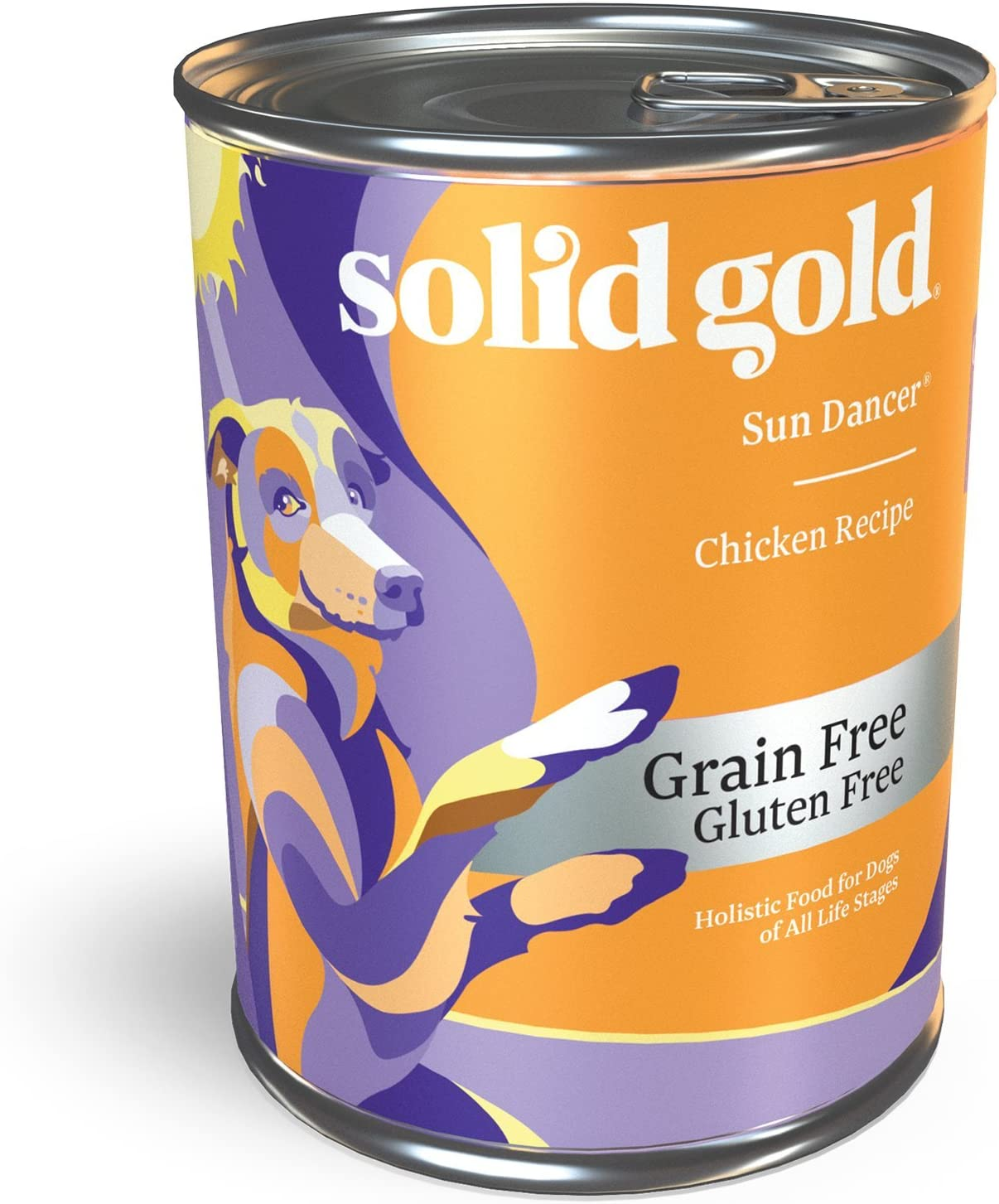 Solid Gold Love at First Bark - Chicken or Beef with Sweet Potatoes, Apple & Gravy - Grain Free Wet Puppy Food