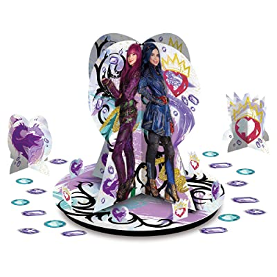 Amscan Disney Descendants 2 Table Decorating Kit: Toys & Games