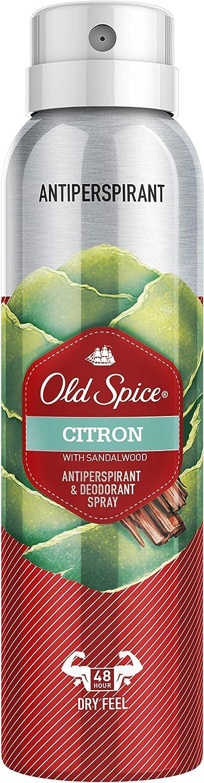 Old Spice Citron Spray Antitranspirante Y Desodorante Para Hombres 150ml
