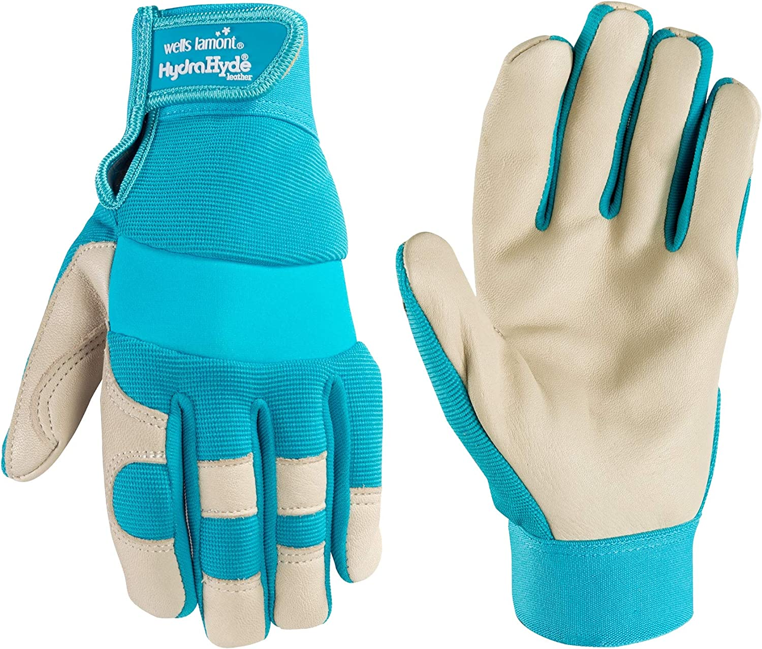 Women's HydraHyde Water-Resistant Work, Gardening Gloves, Large (Wells Lamont 3204)
