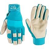 Women's HydraHyde Water-Resistant Work, Gardening Gloves, Medium (Wells Lamont 3204)