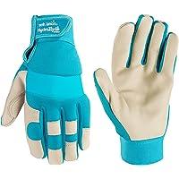 Women's Water-Resistant Work & Gardening Gloves, HydraHyde, Small (Wells Lamont 3204S)