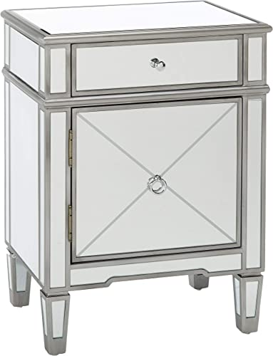 Christopher Knight Home Neely Mirrored 2-Drawer Cabinet