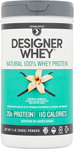Protein Powder with Vitamin C by Nature s Bounty Optimal Solutions, Contains Vitamin C for Immune Health, Vanilla Bean Flavor, 1 lb