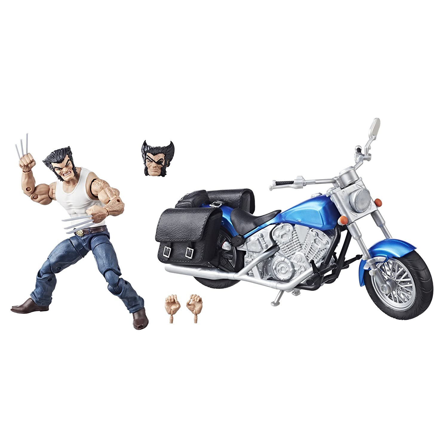 Marvel Legends Series 6-inch Wolverine and Motorcycle Hasbro E1377