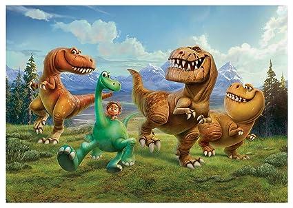 Papel pintado Disney La Buena dinosaurio Arlo Mural para niños (3170ve), 312cm x
