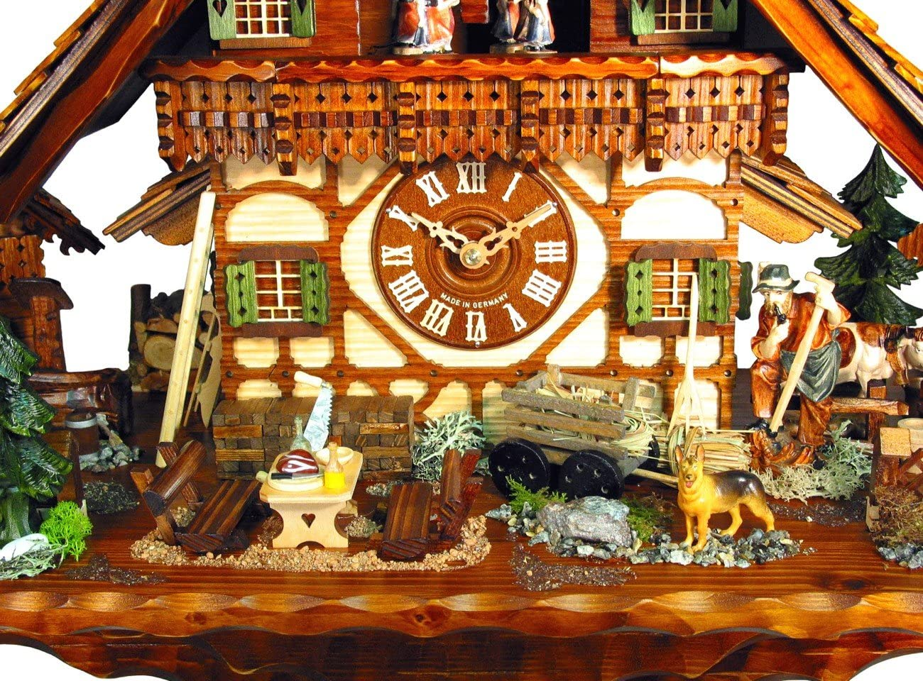 August Schwer Cuckoo Clock of The Year 2012 Farm of The Goatherd from August Schwer