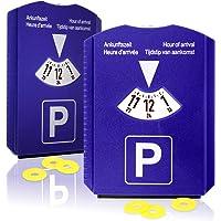 com-four® Disco de estacionamiento 2X con raspador