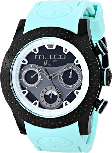 MULCO Unisex MW5-1962-443 Analog Display Swiss Quartz Blue Watch