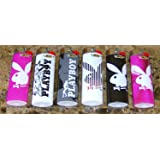"Bic Lighter 3"" Collector Series Playboy Pack Of 6"