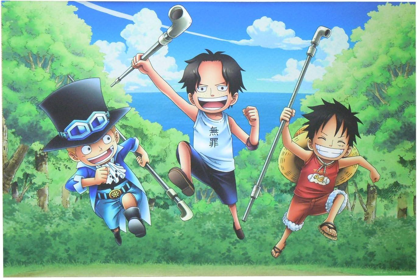 Amazon One Piece ワンピース 壁紙 45cm 67 5cm コルボ山の三兄弟