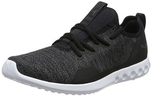 Puma Men s Carson 2 X Knit Black and Asphalt Running Shoes-6 UK India 563328c0a