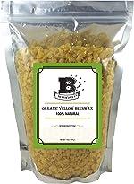 Beesworks® Organic Yellow Beeswax Pellets - 14oz Certified Organic