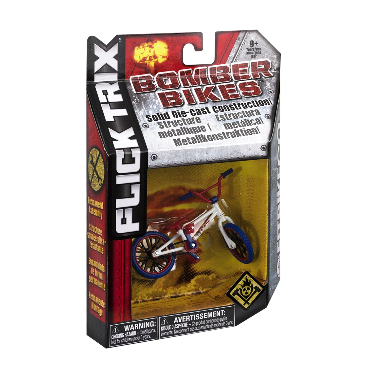 Flick Trix - Bomber Bike - Fit License (Red/White) by Spin Master (Image #2)