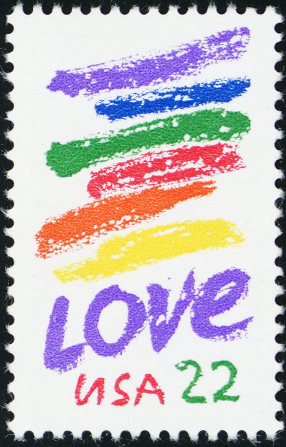 1985 22 Cent Love Series Postage Stamp In Mint Condition Scott 2143