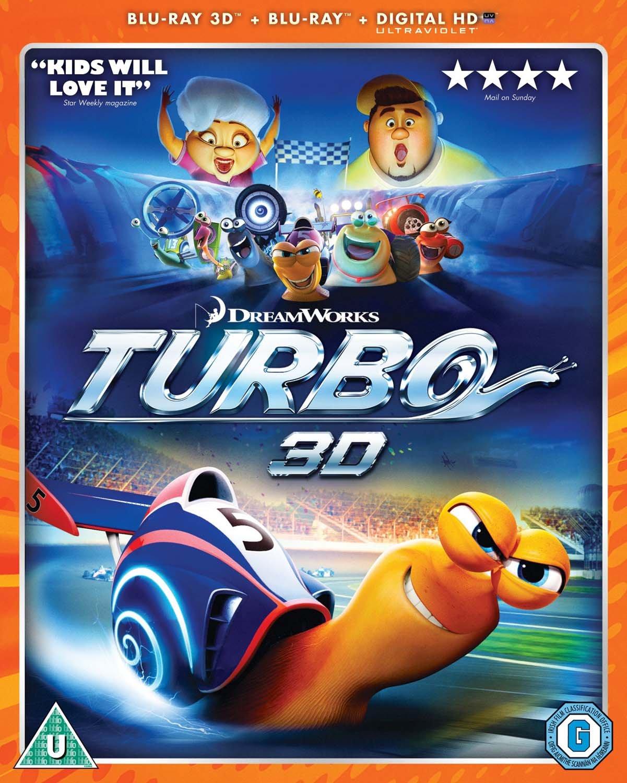 Turbo [Edizione: Regno Unito] [Reino Unido] [Blu-ray]: Amazon.es: Cine y Series TV
