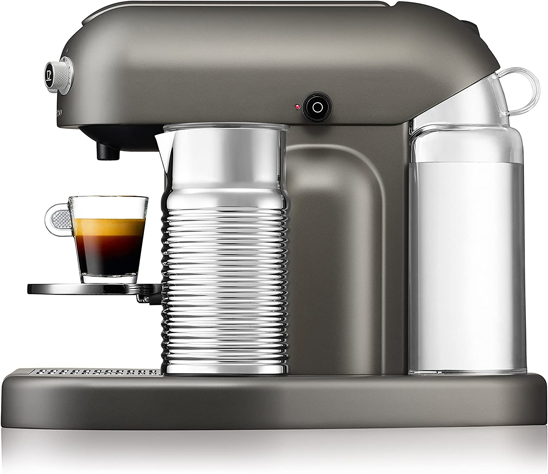 Import Allemagne ancien mod/èle Krups XN8105 Machine /à caf/é Nespresso Maestria Gris acier