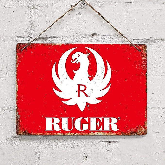 """RUGER Firearms Metal Aluminum Tin Sign 9/"""" x 12/"""""""