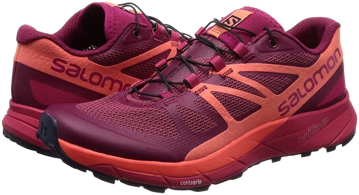 Salomon - Sense Ride Running Shoe - Salomon Women's B01N78XDC2 6|SANGRIA L398486 0b4cf6