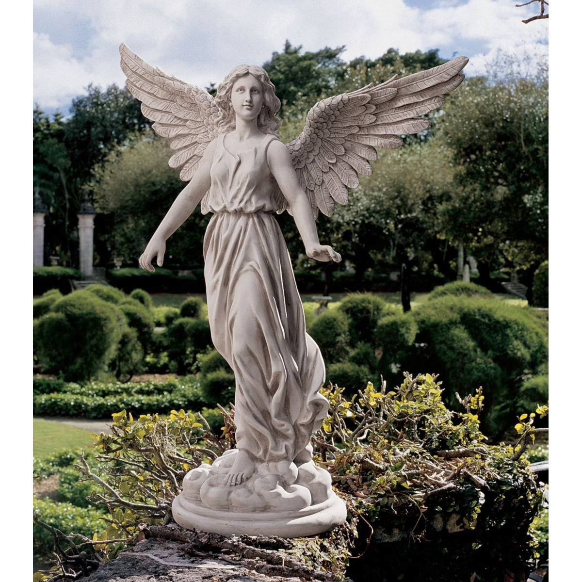 Amazon.com : Design Toscano Angel Of Patience Sculpture : Outdoor Statues :  Garden U0026 Outdoor