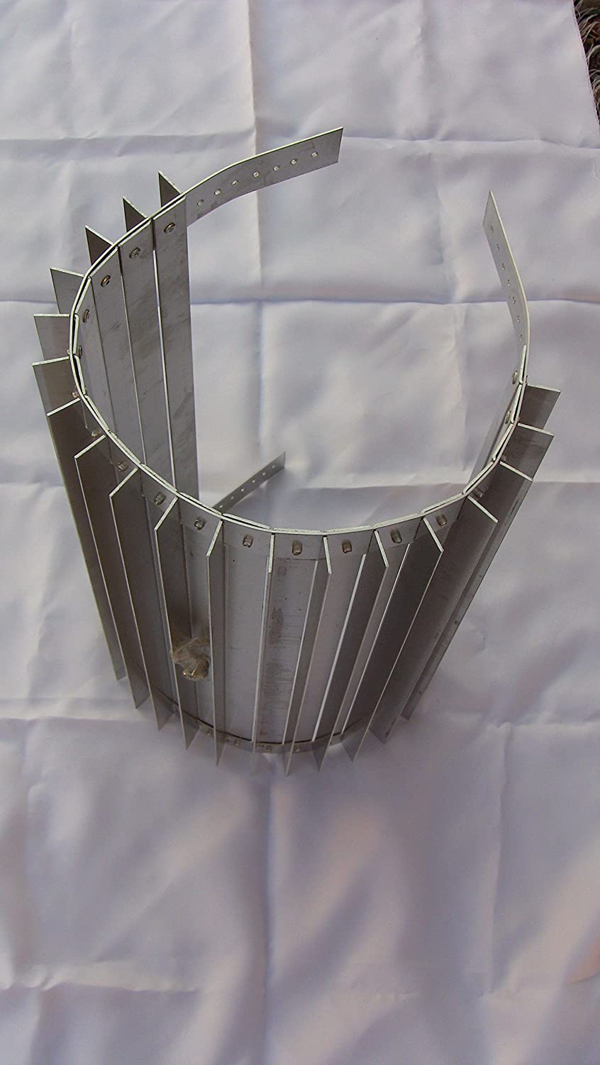 Wood Stove Wrap Heat Exchanger for 5 or 6 in  Pipe x 16 in  (High