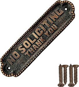 Akatva Door Plaque for Front Door, Office, Restaurant, ETC - Handmade Solid Brass Sign Plate, Door Sign - Home Name Plate for Doors – House Name Plaques –Door Sign Plaque in Antique Copper Finish