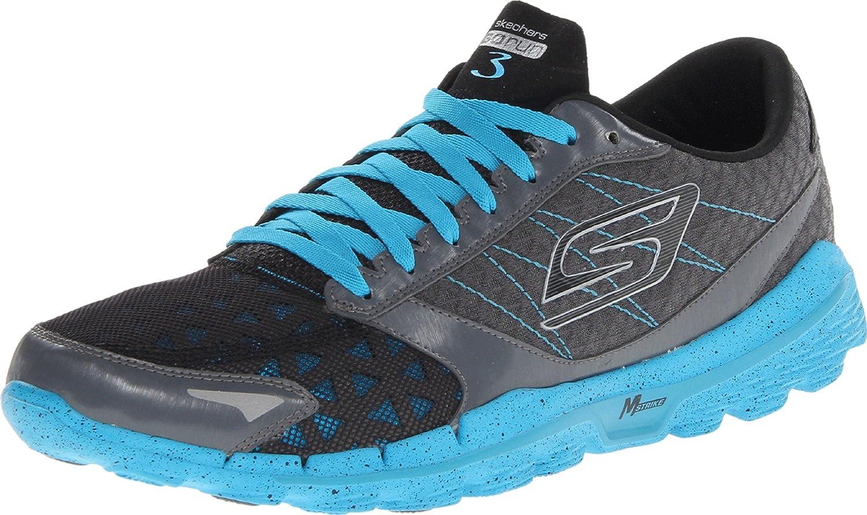 skechers go run 3. skechers men\u0027s go run 3 running shoe, charcoal/turquoise, 14 m us: amazon.co.uk: shoes \u0026 bags