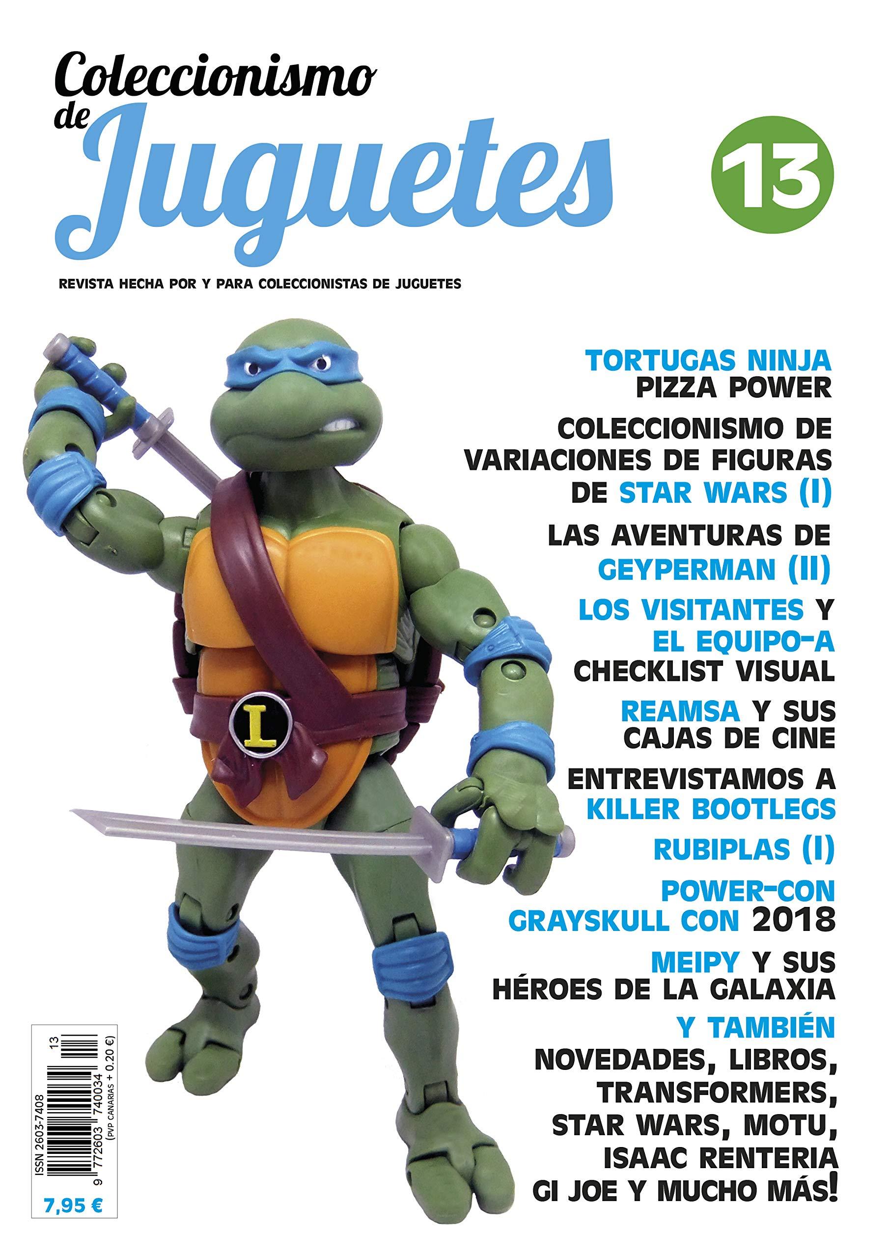 Revista coleccionismo de juguetes - nº 13: Amazon.es ...