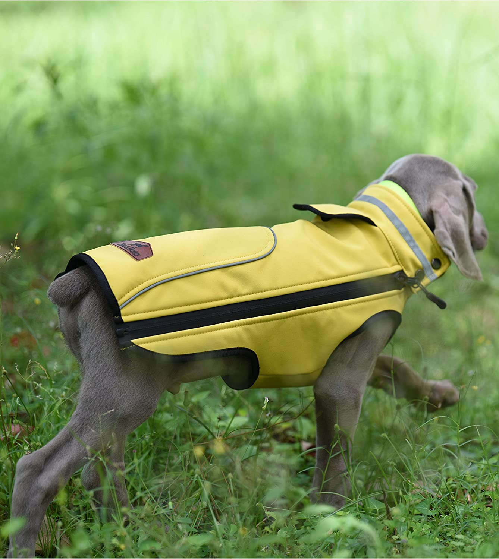 Vorschlag: Bitte eine gr/ö/ßere Gr/ö/ße kaufen PALMFOX Haustier Hund Baumwolle Gef/ütterte Regenmantel Weste Kleider Mantel Jacke Kleidung Wasserdicht-