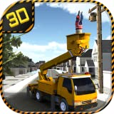 Urban Services Truck Simulator 3D