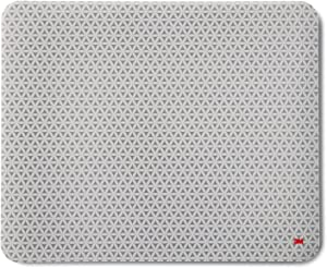 "3M Precise Mouse Pad with Repositionable Adhesive Back, Enhances the Precision of Optical Mice at Fast Speeds and Extends the Battery Life of Wireless Mice up to 50%, 8.5"" x 7"", Bitmap (MP200PS)"