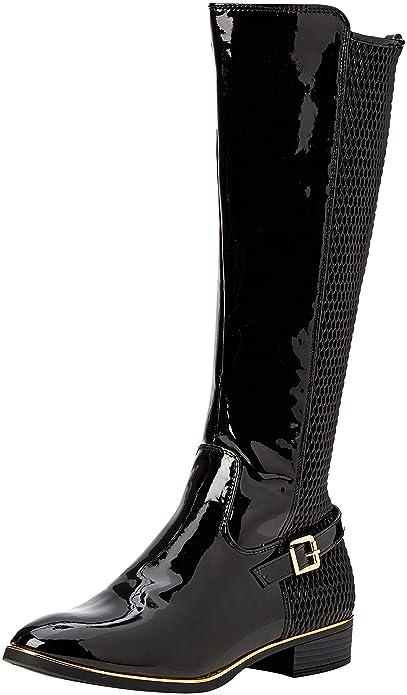 Tina, Bottes Cavalieres Femme, Noir (Black 130), 39 EUDorothy Perkins