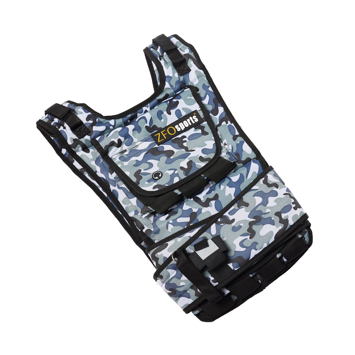 ZFOsports Weighted Vest 40lbs/60lbs/80lbs (Arctic 60LBS)