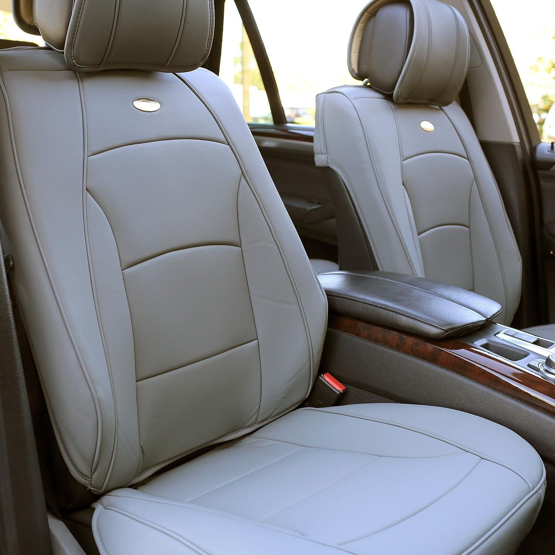 FH Group PU205013BLUEBLACK Bench PU205BLUEBLACK013 Ultra Comfort Leatherette Rear Seat Cushions Blue Black