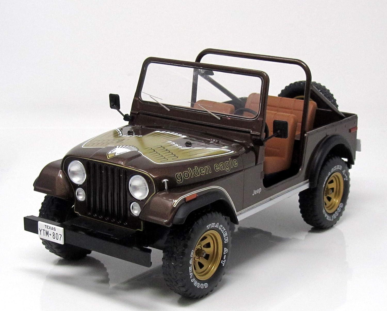 metallic-dunkelbraun 1980 1:18 MCG 18109  *NEW** Jeep CJ-7 Golden Eagle