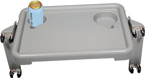 Amazon.com: Andador de lujo de dos botones, plegable, con ...
