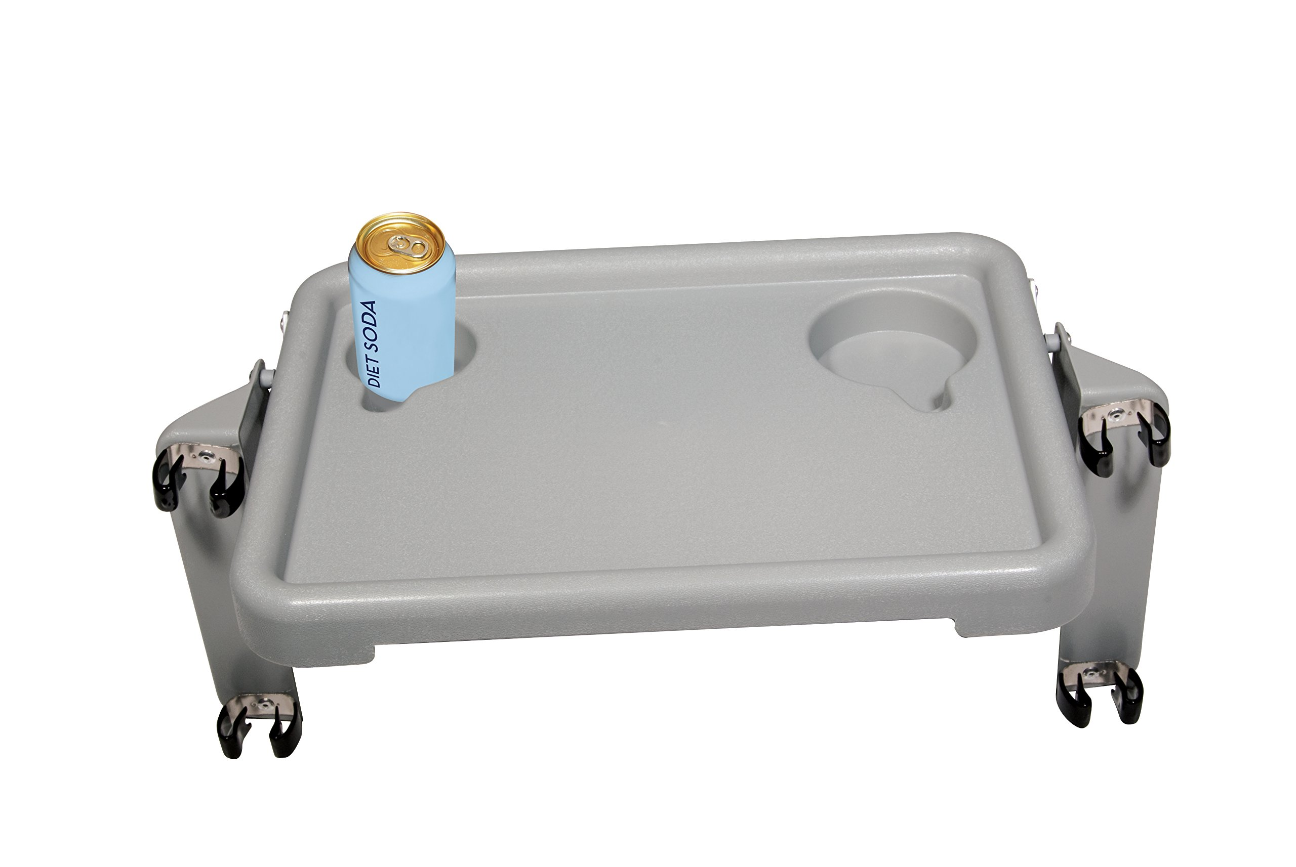 Drive Medical Deluxe Folding Walker Tray, Gray, 16'' x 12'' by Drive Medical