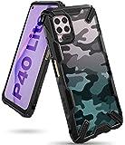 Ringke Fusion X Diseño DDP Compatible con Protección Funda Huawei P40 Lite - Camo Black