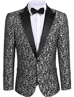 Amazon.com: Xposed traje de hombre vintage 3 piezas de ...